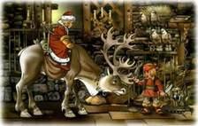 Герда разбойница и северный олень