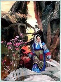 Катя — Данилова невеста идет к медной горе