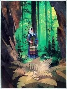 Катя — Данилова невеста у медной горы у входа
