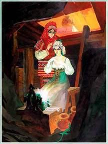 Малахитовая шкатулка и ее украшения