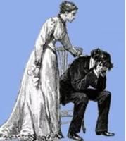 С женой поссорился