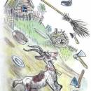 Федорино горе вся посуда убежала коза