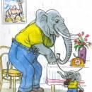 Телефон слон слоненок шоколад