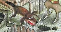 злая собака у будки