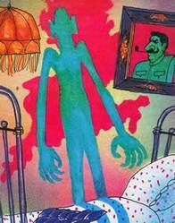 Красная рука, черная простыня, зеленые пальцы читать