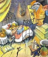 Матушка выпила аспирин и закуталась в одеяло.