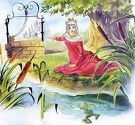 Сказка Принц-лягушка читать онлайн полностью, Братья Гримм