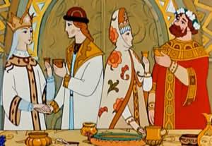 Пушкин Сказка о царе Салтане