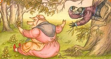 Картинки по запросу свинья подрывает корни дуба