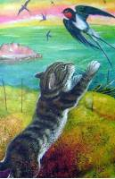 Рассказ Бориса Житкова беспризорная кошка читать