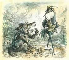 Басня Волк и Журавль читать онлайн полностью, Басни ...