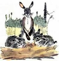 Картинки сказка мамин сибиряк про храброго зайца 12