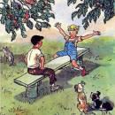 Мишутка и Стасик сидели в сад