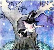 Скуперфильд в дупле дерева