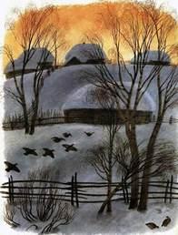 Пришвин М.М. рассказ Птицы под снегом