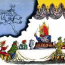 стих Королевский пирог читать Самуил Маршак