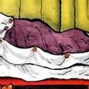 стих Рано в кровать читать Самуила Маршака