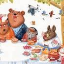 Медведи на обеде