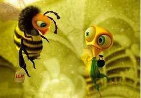 Пчелы и мухи