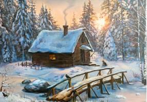 sluchaj na zimovke