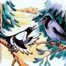 Ворон и сорока