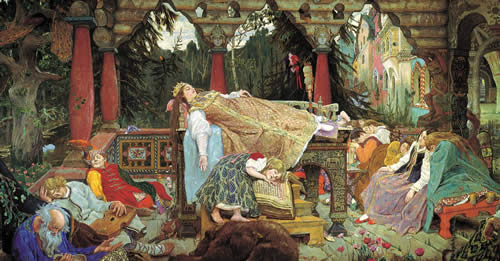 сказка спящая царевна