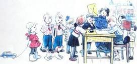 Ёлка дети пишут письмо деду морозу