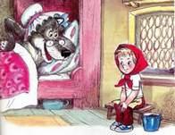 петя и волк в кровати бабушки