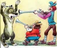 охотники поймали серого волка