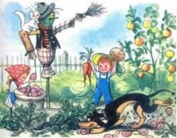Рассказ Бабушкин огород Сутеева читать
