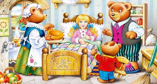 картинка сказки три медведя
