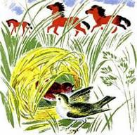 Лесные домишки читать сказку Бианки