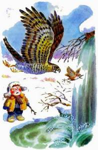 Сумасшедшая птица читать рассказ Бианки