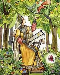 Аленький цветочек сказка Сергея Аксакова