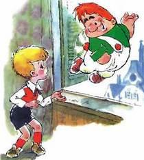 малыш и карлсон который живёт на крыше картинки