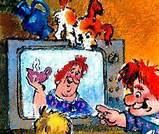фрекен Бок показывают по телевизору