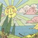 Солнце и туча