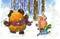 Винни-Пух и пятачоп отправились в путь