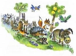 друзья и знакомые кролика винни