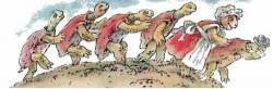 Как Братец Черепаха победил Братца Кролика