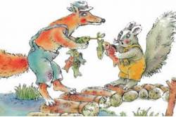 Как Братец Кролик лишился хвоста