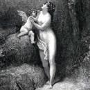 Амур и Безумие басня