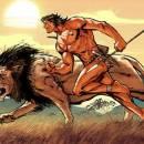 Человек и лев попутчики