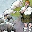 Дикие козы и пастух