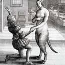Кошка, превращенная в женщину