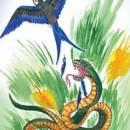 Ласточка и змея