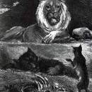 Лев и его двор