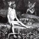 Лисица, обезьяна и звери