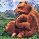 Казахская сказка медведь и комар