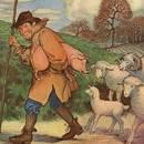 Поросенок и овцы